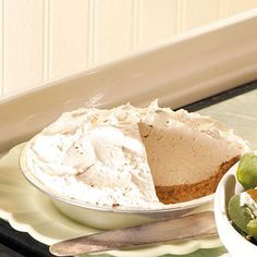 Irish Coffee Pie Recipe from Taste of Home -- shared by Holly Nauroth of Fruita, Colorado