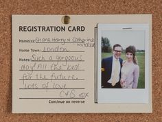 Guestbook alternative  50  registration cards by iceandearth