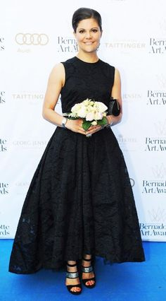 Crown Princess Victoria at the Bernadotte Art Awards at Grand Hotel in Stockholm, 02.06.2014