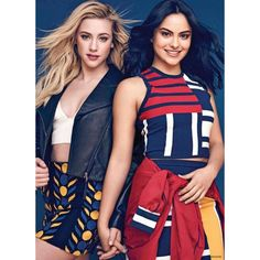 Camila Mendes with Lili Reinhart at Photoshoot for Seventeen Mexico, November 2017 Riverdale Poster, Bughead Riverdale, Riverdale Funny, Riverdale Memes, Riverdale Polly, Betty Cooper, Riverdale Betty And Veronica, Betty & Veronica, Veronica Roth