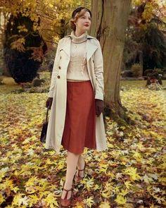 - Vintage and Lindy Hop - kleidernachstil Vintage Inspired Fashion, Whimsical Fashion, 1940s Fashion, Modern Fashion, Fashion Vintage, 1940s Outfits, Vintage Style Outfits, Women's Vintage Style, Lindy Hop