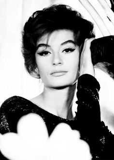 teksenglily: Anouk Aimee. Because she is infinitely beautiful.
