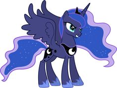 Devious Princess Luna by 90Sigma.deviantart.com on @DeviantArt