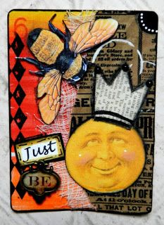 Eclectic Paperie: Altered Playing Cards