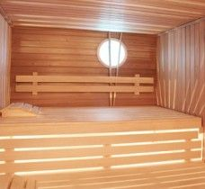 Sauna Standard Line Banquettes, Architecture, Furniture, Home Decor, Led Strip, Steam Room, Arquitetura, Decoration Home, Booth Seating