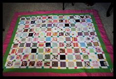 Craftastical!: Tutorial: A Baby Clothes Quilt from start to finish