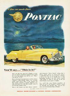 1947 Pontiac Deluxe Torpedo Convertible