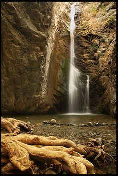 #Myllomeris Waterfalls south of Platres in the Troodos Mountains, #Cyprus. #kitsakis