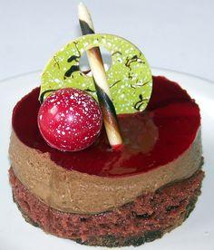 One of Ghyslain's wonderful chocolate desserts.