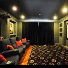 Ultimate Home Theatre room