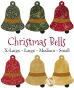 Laser-Cut Christmas Bells - 4 Sizes Available!