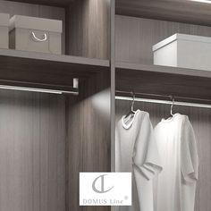 Domus Line Goccia henkarivalaisimessa on integroitu IFR-liiketunnistin, Saatavana luonnonvalkoisella valolla, varastossa kolme eri kokoa. #domusline #goccia #yritysmyynti #valaistus #valaisin #sisustus #henkari #pukeutuminen #vaatehuone #tilaratkaisut #tilasuunnittelu #arkkitehti #tukkumyynti #helakeskus Bathroom Hooks, Led, Instagram Posts, Closet, Home Decor, Dekoration, House, Armoire, Decoration Home