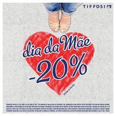 O DIA É PARA A MÃE, MAS A CAMPANHA É PARA TODOS! #tiffosi #tiffosidenim #tiffosikids #campanha #diadamae  Loja Online TIFFOSI.COM http://www.tiffosi.com/  Consulta as Condições Gerais da Campanha em www.tiffosi.com
