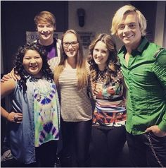 """Photo: Last Scene For The """"Austin and ally"""""""