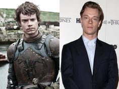 """Alfie Allen (Theon Greyjoy) - Though his """"Game of Thrones"""" character Theon Greyjoy may have some serious issues with his sister, in real life, Alfie Allen has a great relationship with his big sister: British pop star Lily Allen. Perhaps her song """"Alfie,"""" which she wrote about the 25-year-old actor, encouraged him """"to get a job."""" And what an excellent job he finally did get!"""