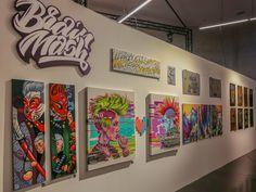 Selfie House exhibition on Behance Graffiti Canvas Art, B Rain, Magic City, Spray Painting, Street Art, Selfie, Lettering, Fine Art, Frame