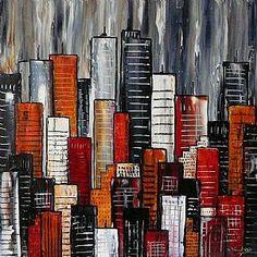 Abstract City No 15
