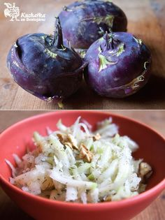 Kuchařka ze Svatojánu: KEDLUBNOVÝ SALÁT Eggplant, Salad Recipes, Salads, Paleo, Vegetables, Healthy, Food, Diet, Recipes