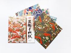 Origami de Washi fino -Yuzen-