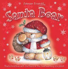 Izziwotnot Forever Friends Santa Bear Storybook - £9.99