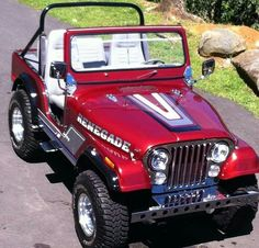 Cj Jeep, Jeep Wrangler Tj, Jeep Wrangler Unlimited, Jeep Truck, Us Cars, Jeep Ika, Jeep Cj7 Renegade, Cool Jeeps, Trucks