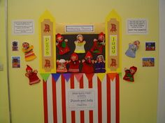 Punch and Judy Display, Classroom Display, class display, culture, Theater, puppet, entertainment, play, Early Years (EYFS), KS1 Primary Resources