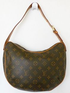9a76f4a911 LOUIS VUITTON Monogram Croissant MM Shoulder Bag Purse  fashion  clothing   shoes  accessories