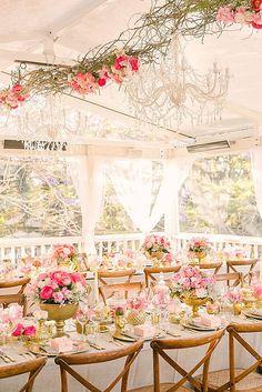 30 Glamorous Rose Gold Wedding Decor Ideas ❤ See more: http://www.weddingforward.com/rose-gold-wedding-decor/ #wedding