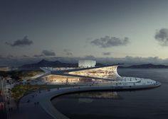 Beautiful, Snøhetta (Norway) wins competition to design Busan Opera House, South Korea