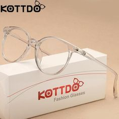 4f544374c83 Eyewear Frames. KOTTDO Fashion Transparent Glasses Optical Glasses Frames  For Women ...