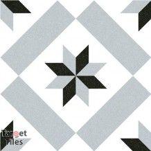 Deco Calver Grey Floor tile 200x200x8mm