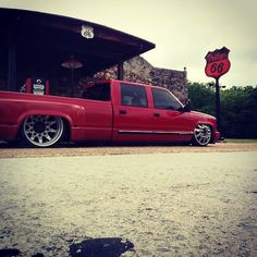 Cruising 66 #bagged #baggedduallysig #duallylife #duallykings #bigbooty #chevy #obs #dually