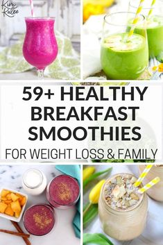 Healthy Breakfast Smoothies for You & Your Kids - 59 Quick Easy Recipes smoothierecipes smoothies breakfastideas breakfastsmoothies healthybreakfast healthybreakfastideas 457959855856637762 Apple Smoothies, Healthy Smoothies, Healthy Drinks, Healthy Cooking, Smoothie Recipes, Healthy Snacks, Healthy Breakfasts, Eat Healthy, Healthy Sleep
