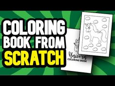 How To Create YOUR FIRST Coloring Book For Amazon KDP (FROM SCRATCH & FREE) - YouTube