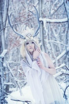 Snow Deer by Lightning Cosplay
