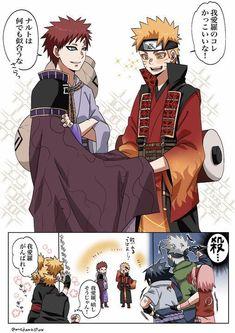 Naruto Gaara, Naruto Uzumaki Shippuden, Naruto Shippuden Characters, Naruto Anime, Naruto Comic, Sasunaru, Haikyuu Anime, Narusasu, Shikamaru