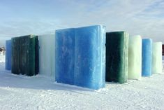 Gallery of Frozen Architecture: From Glistening Snow Shows to Multi-Colored Ice Festivals - 7