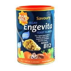 Nutritional yeast flakes with a cheesy, nutty taste made from primary inactive yeast without additives or preservatives. Rich in vitamin and zinc. 125 g Best Vegan Cheese, Vegan Parmesan Cheese, Vegan Cream Cheese, Dog Food Recipes, Vegan Recipes, Vegan Food, Vegan Egg, Food Suppliers, Cheese Tasting