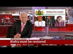 BBC REPORT   Biafra Independence IPOB   BVI Channel 1