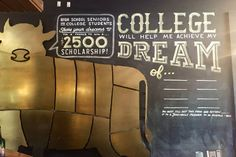 Dream big. We're inviting graduating high school seniors and college students to to us their dreams for a chance to win a $2,500 #scholarship.