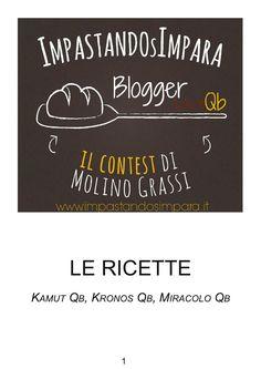 """BloggerLoveQb 2 """"Il ricettario"""""""