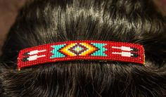 Beaded Northern Arapaho hair clip. We have two gift shops showcasing Native American Art. The first is located behind the table games on the gaming floor and the second is situated in the hotel lobby. You can find one-of-a-kind custom art and beadwork from the Northern Arapaho Indians and other tribes. Take home a piece of living history today.