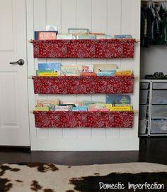Des étagères de livres à faire soi même (tutoriel)