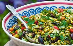 Sarah Raven recipe: Pea, broad bean and edamame bean salad  - Telegraph