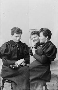 vintage everyday: Norwegian Crossdressing: Incredible Private Early 1900s Photos Show Two Female Photographers Playing With Gender Roles