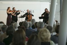 Chamber music festival at Swarovski Kristallwelten: Music in the Giant 2015 with the Artemis Quartett.