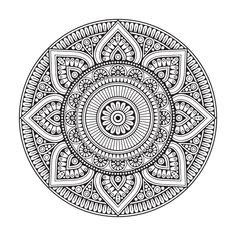 Tapis en vinyle Mandala Mexico