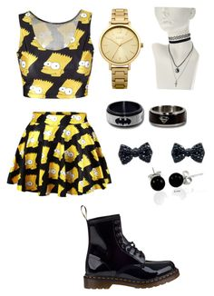 """""""Untitled #35"""" by zemkool ❤ liked on Polyvore featuring Dr. Martens, Oasis and Bling Jewelry"""