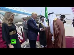 RAW: Trump in Saudi Arabia for first foreign visit, meets King Salman - YouTube 1:47 05-20-2017