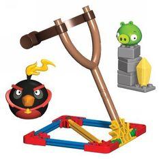 Knex Angry Birds Space - Bombowy Ptak i Mała Świnia Minion